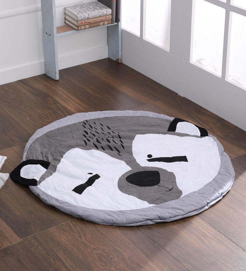 Bear Shaped Blanket Play Mats Crawling Rug Carpet