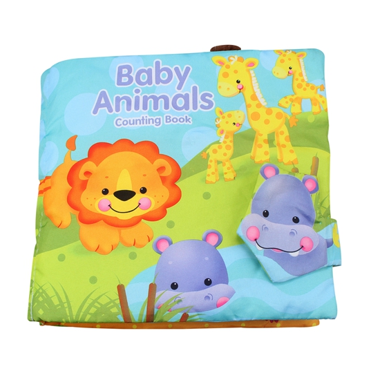 Animal Zoo Numbers Toy Cloth Book