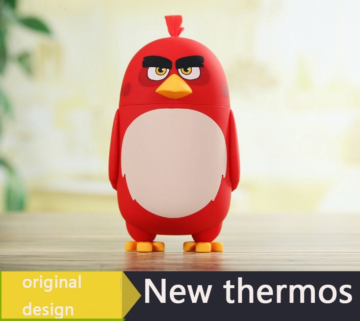 Angry Bird Thermos Water Bottle Vacuum Flasks 230 ML