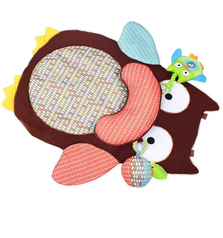 Owl Baby Tummy Time Play Mat