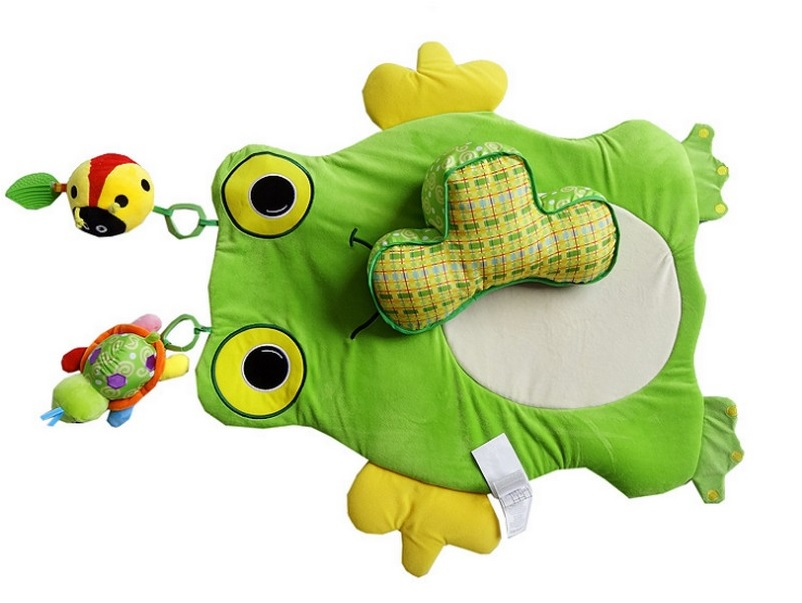 Frog Baby Tummy Time Play Mat