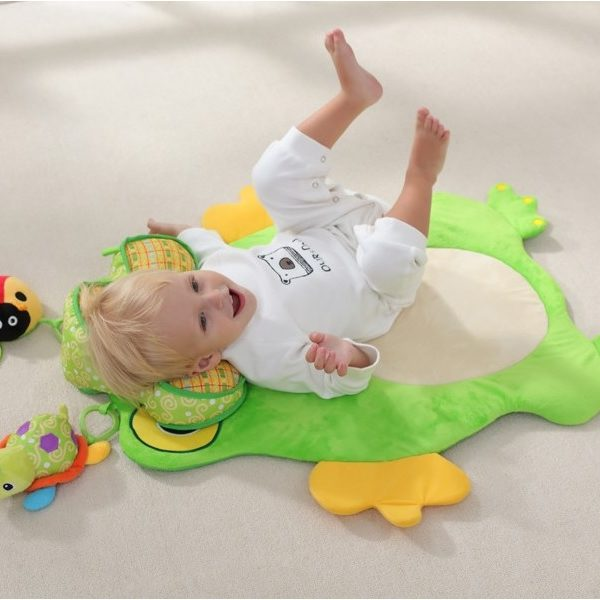 Frog Baby Tummy Time Play Mat The Tickle Toe