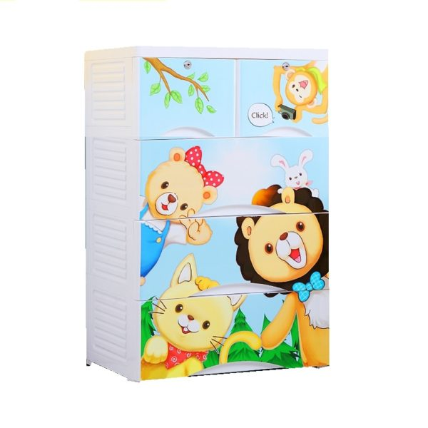 Friendship 4 Layer Storage Chest Of Drawer Cabinet The