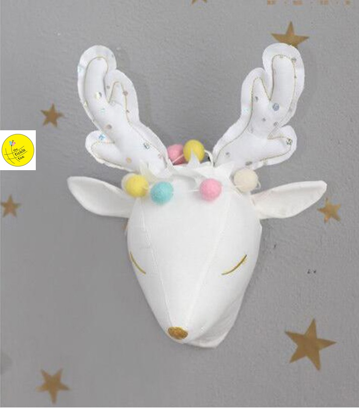 Wall Hanging Stuffed Toy Deer