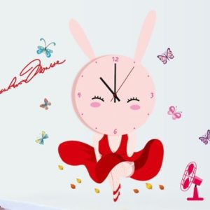 kids room decor , wall clock , baby room decorating ideas , creative wall art