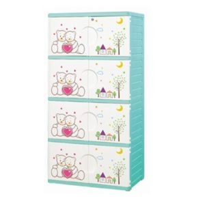 , plastic wardrobe., cartoon closet kids, children storage, kids cupboard