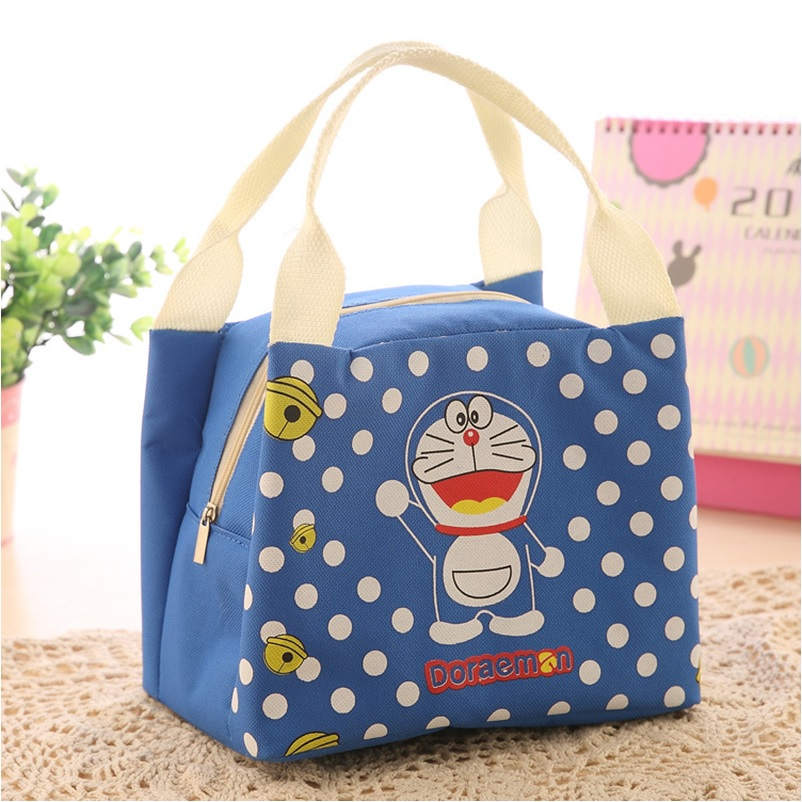 Kids School Insulated Lunch Bag Doraemon