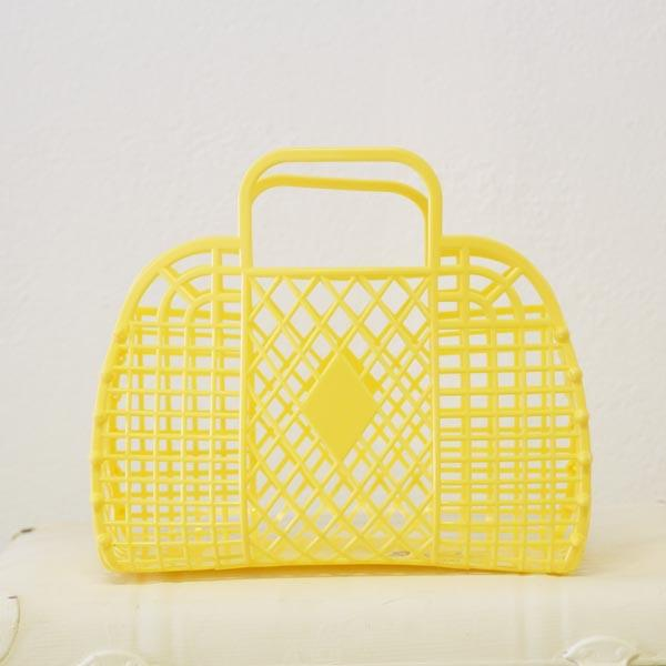 Retro Style Sun Jelly Basket