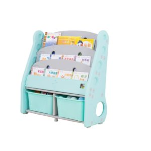 Shelf book stand rack organizer shelf toy basket
