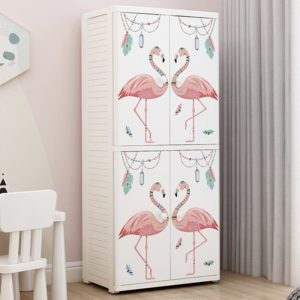 big cabinet furniture Kids books storage cabinets box cupboard organizer drawers boys girls cloth clothes toys books wheels lock toys thickened plastic tickle toe closet wardrobe tickle toe décor