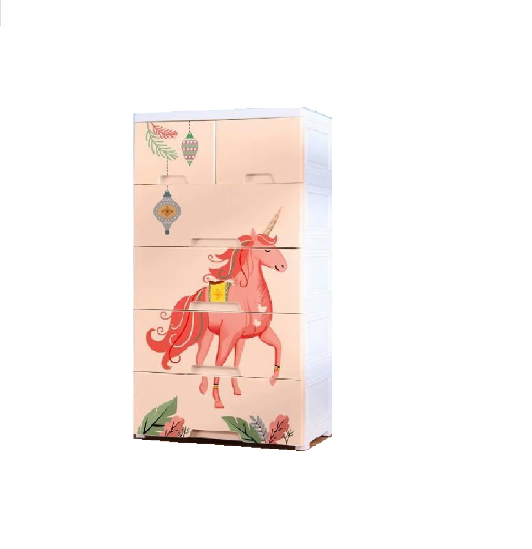 Unicron Horse Yellow Chest of Drawer 58 L x 38 W x 105 H cm