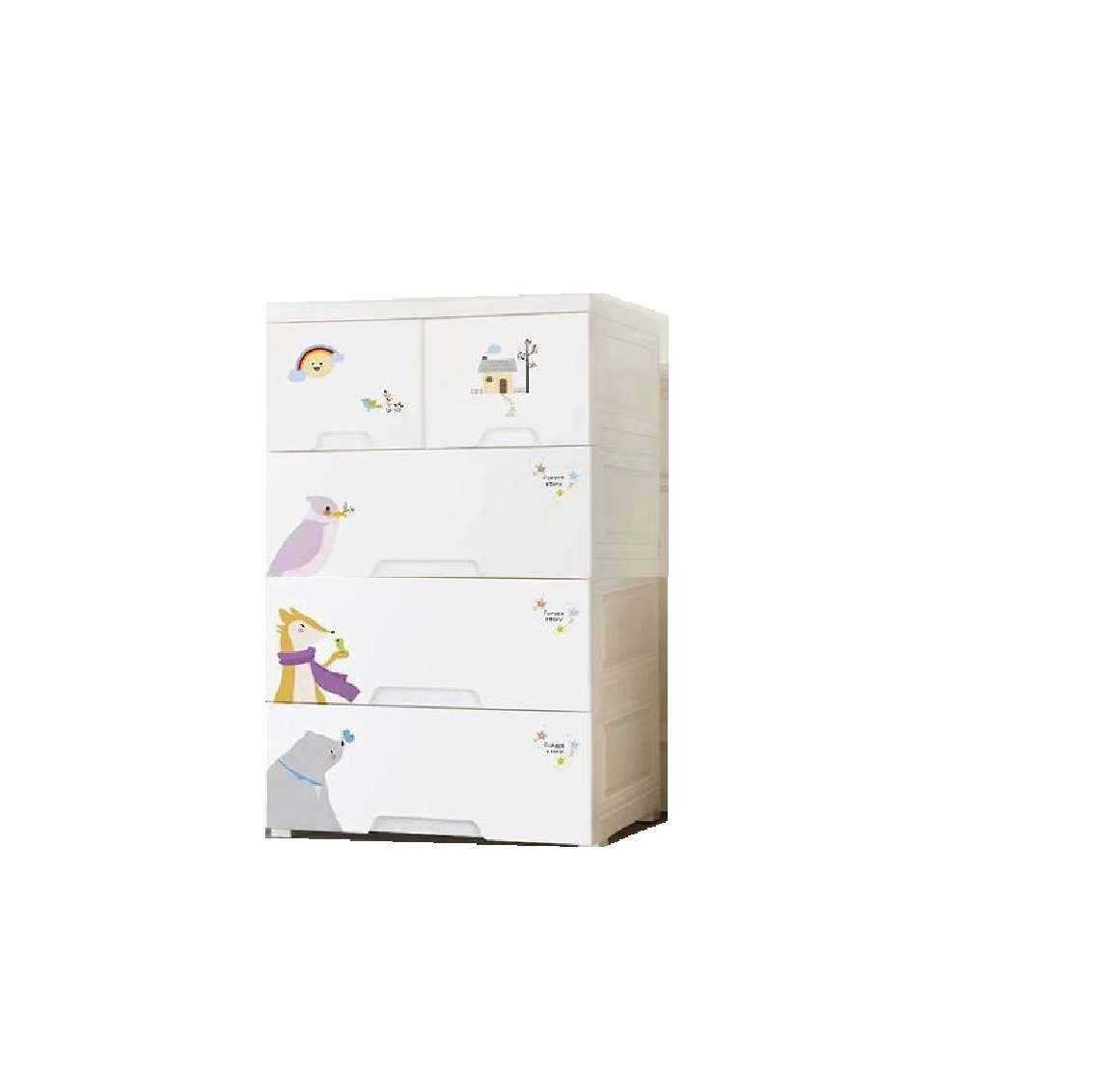 closet wardrobe Kids books storage cabinets box drawer