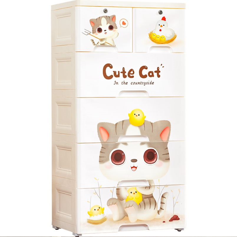 kids storage box , baby furniture , thetickletoe furniture